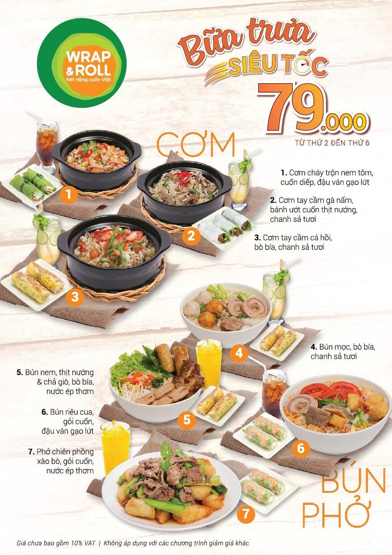 Bữa trưa siêu tốc 79k tại Hà Nội
